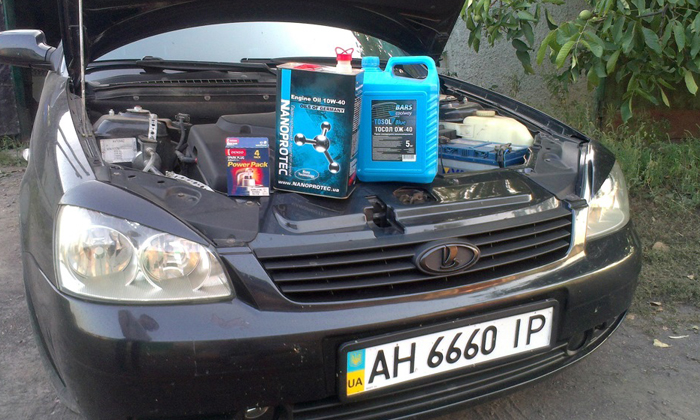 Очистка системы вентиляции картерных газов