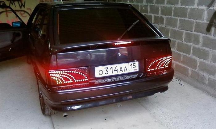 Тюнинг фар ВАЗ 2114